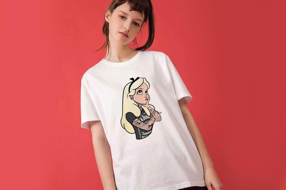 Женские футболки на заказ на м. Площадь Ильича
