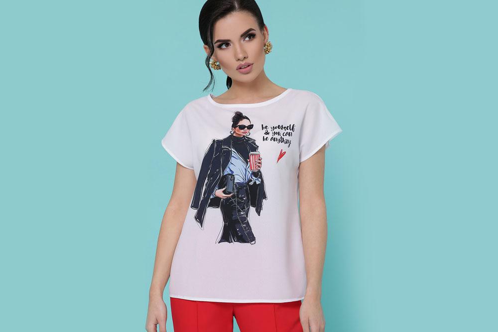 Печать на женских футболках на заказ на м. Площадь Ильича