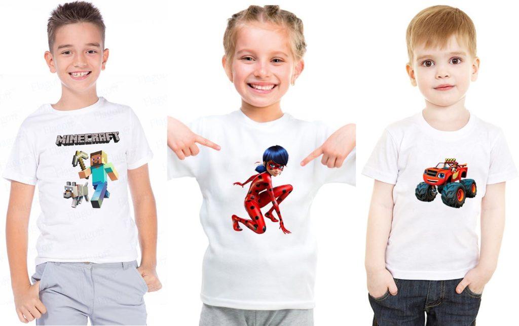 Именные футболки недорого