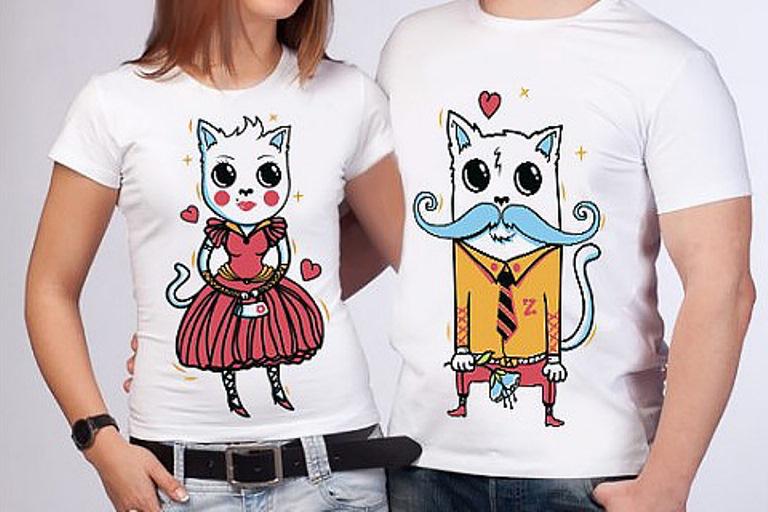 Печать фото на футболке в Москве