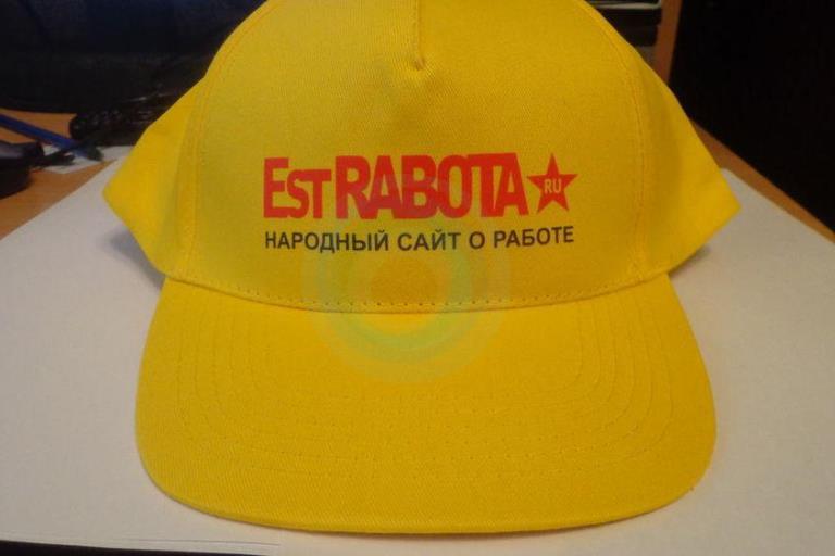 печать на кепках в Москве с доставкой