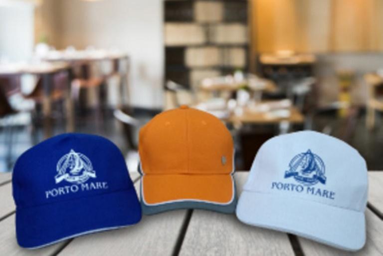 печать на кепках в Москве