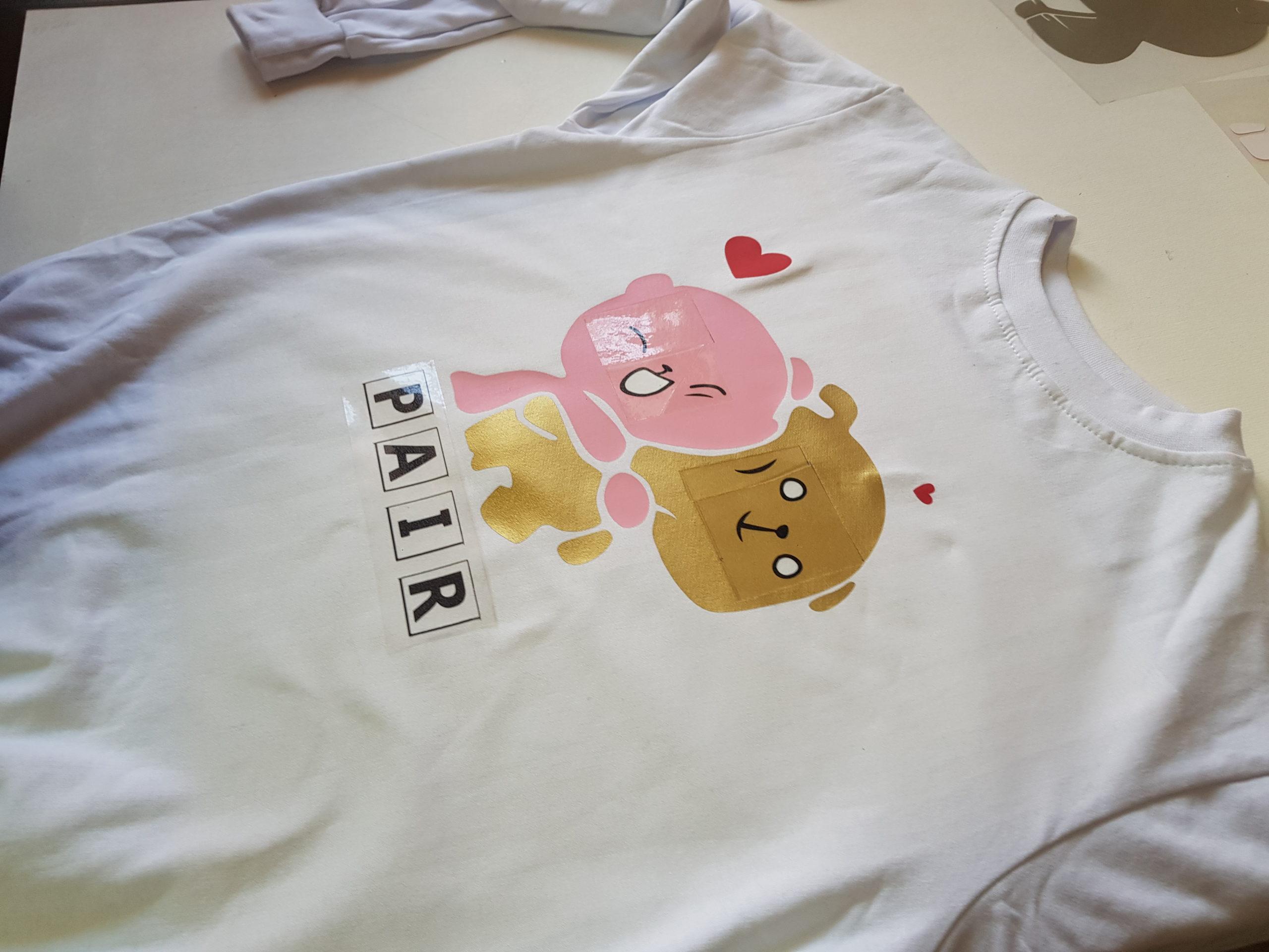 Печать на детских футболках Москва