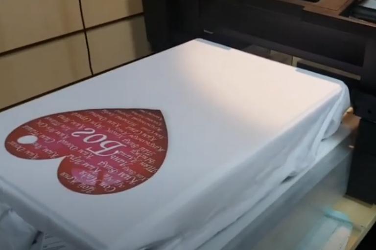 Качественное обучение печати на футболках в Москве